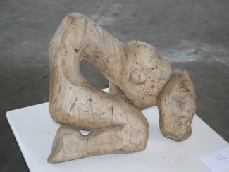 wooden sculpture by Maggie Otieno-Perkin