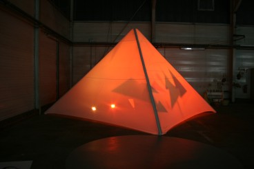 shadow pyramid by Angela Sophia Wagner